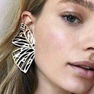 DAYFOURTEEN Eternal Flight Butterfly Earrings.
